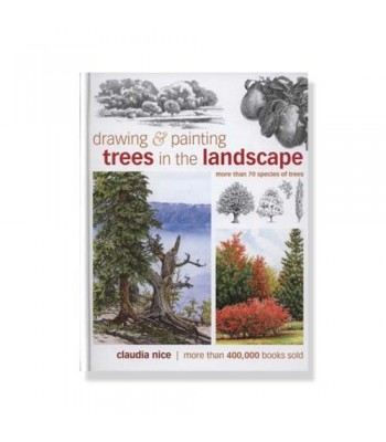 Drawing&Painting Trees in the landscape