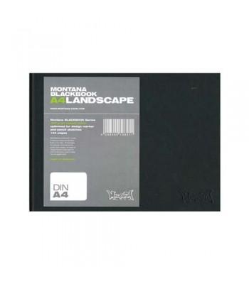Montana Sketch Book Black Landscape A4 MONPAD108211