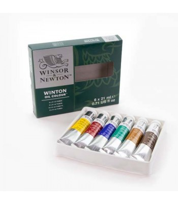 Winsor & Newton Winton Oil Color Set WIN 1490431
