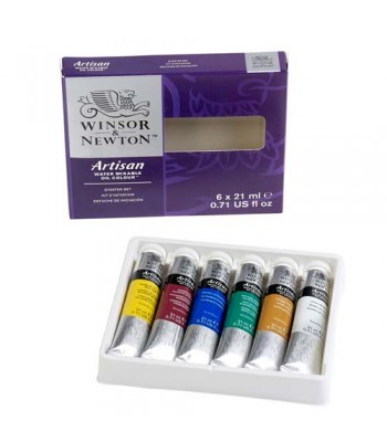 Winsor & Newton Artisan Water Mixable Oil Color Set WIN 1590264