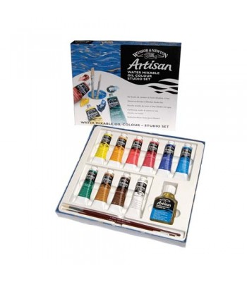 Winsor & Newton Artisan Water Mixable Oil Color Set WIN 1590252
