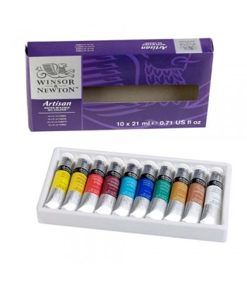 Winsor & Newton Artisan Water Mixable Oil Color Set WIN 1590227