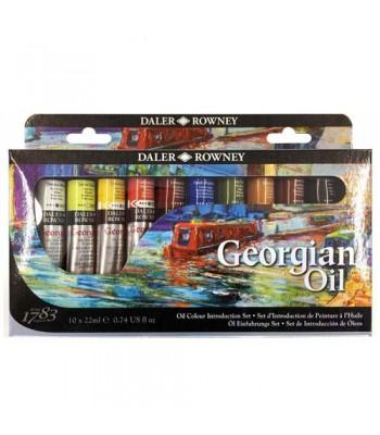 Daler Rowney Georgian Oil Color Set DAL 111 900 050