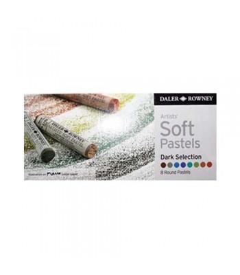 Daler Rowney Artists Soft Pastels 8 Colors