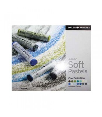 Daler Rowney Artists Soft Pastels 16 Colors