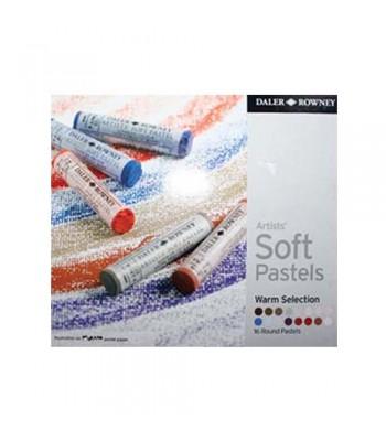 Daler Rowney Artists Soft Pastels 16 Colors WS