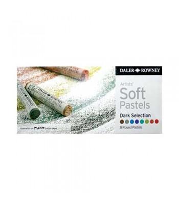 Daler Rowney Artists Soft Pastels 8 Colors DS