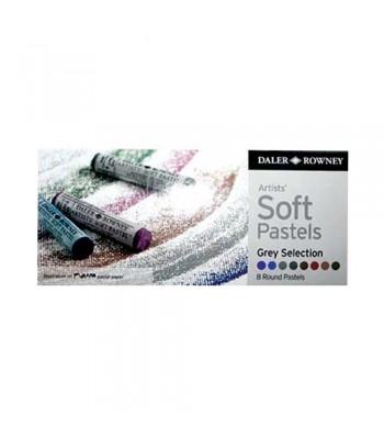 Daler Rowney Artists Soft Pastels 8 Colors GS