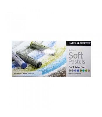 Daler Rowney Artists Soft Pastels 8 Colors CS2