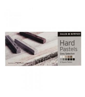 Daler Rowney Artists Hard Pastels 12 Colors 1012