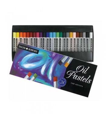 Daler Rowney Artists Hard Pastels 24 Colors 0024
