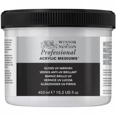 Winsor & Newton Acrylic Mediums Gloss UV Varnish 450ml