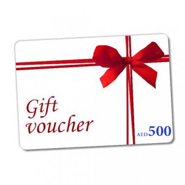 Gift Voucher 500