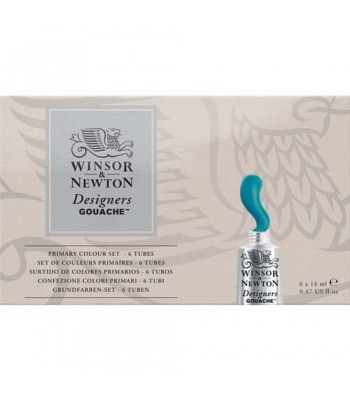 Winsor & Newton Designer Gouache Set 6 x 14ml