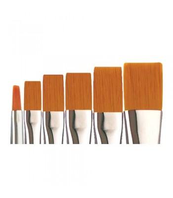 Raphael Short Flat Brushes Size 2- 12