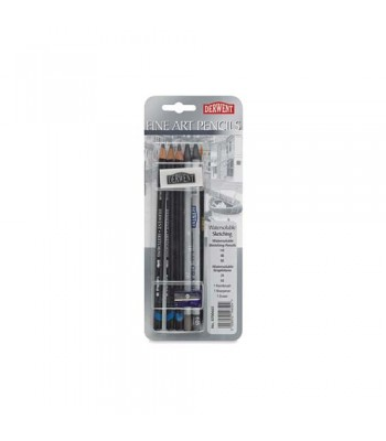 Derwent Graphic Pencil Fine Art Blister Of 8