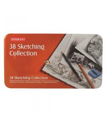 Derwent Sketching Collection 38 Tin
