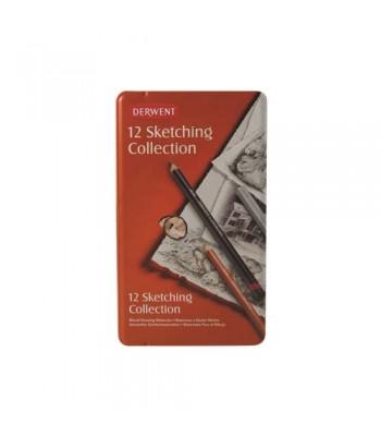 Derwent Sketching Collection 12 Tin