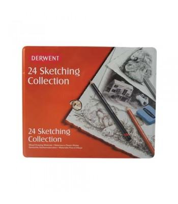 Derwent Sketching Collection 24 Tin