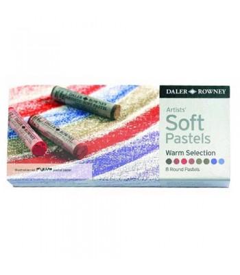 Daler Rowney Artists  Soft Pastel Warm 8 Colors