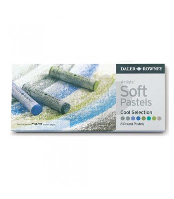 Daler Rowney Artists  Soft Pastel Cool 8 Colors