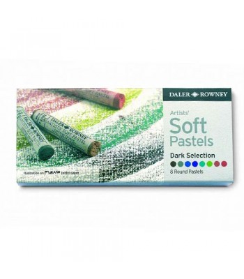 Daler Rowney Artists  Soft Pastel Dark 8 Colors