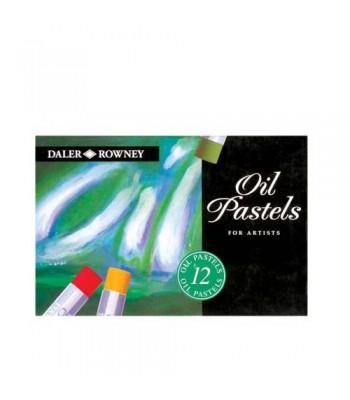 Daler Rowney Artists Oil Pastel 12 Colors
