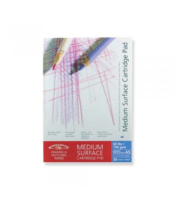 Winsor & Newton Cartridge Pad Medium Surface 130Gsm 30Sheet