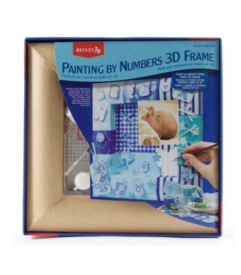 Reeves Painting By Numbers 3D Frame