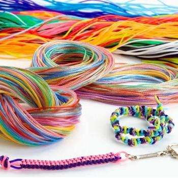 Specialist Crafts Braiding Cords Glitter