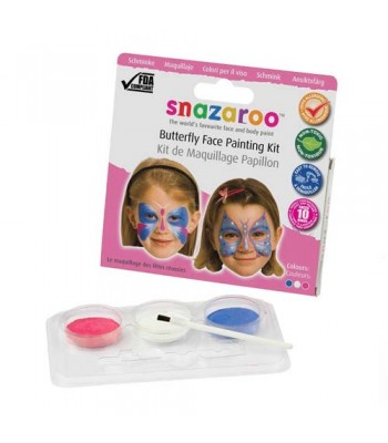 Snazaroo Face Paint Kit Butterfly Theme