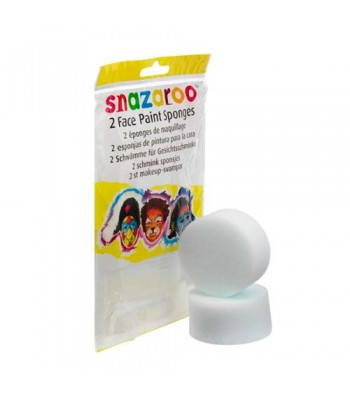 Snazaroo Sponge White For Face Painting