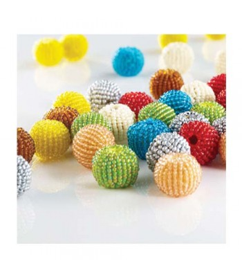 Specialist Crafts Beaded Beads 18mm