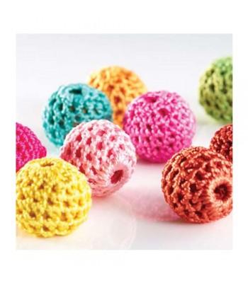 Specialist Crafts Crochet Beads 16mm Asst