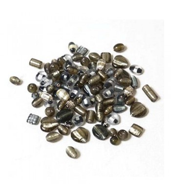 Specialist Crafts Foil Beads Assorted