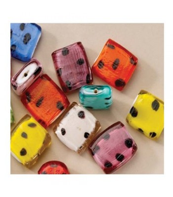 Specialist Crafts Flat Leopard Beads