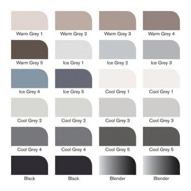 Promarker Set 1x24 Black & Grey