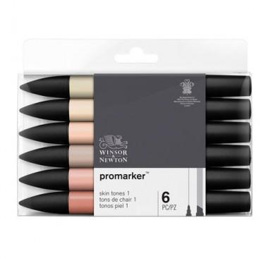 Promarker Set 1x6 Skin Tones Set 1
