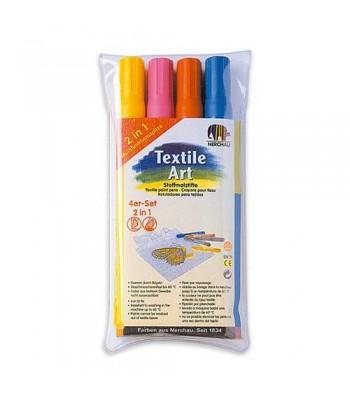 Nerchau Textile Marker 4 in 1 Set