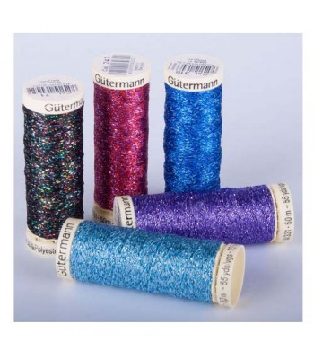 Specialist Crafts Metallic Thread Assorted