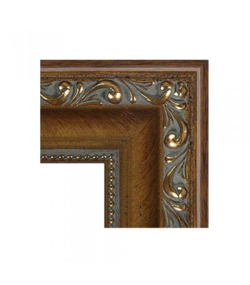 Specialist Crafts Walnut-Gold Bead Swept Frame