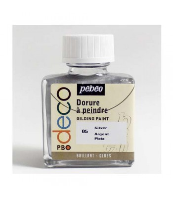 Pebeo Gilding Paints Silver 75ml