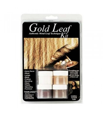 Pebeo Gold Leaf Kit Imitation Gold set