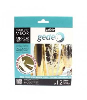 Pebeo Gold Leaf Silver Kit Mirror Effect
