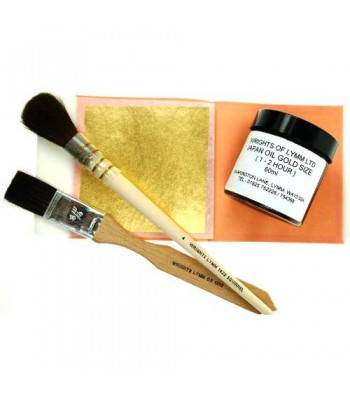 Pebeo Gold Leaf Kit with Brush