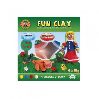 Kohinoor Fun Clay 4 x 18gm