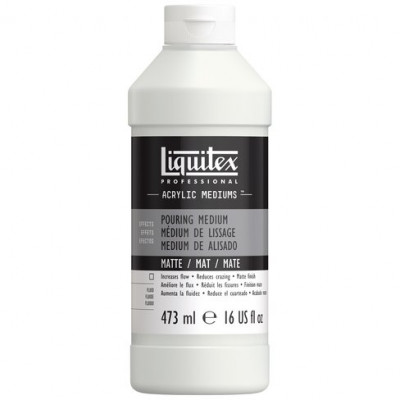 Liquitex Professional Acrylic Mediums 473ML Matte Pouring Medium LIQ204757