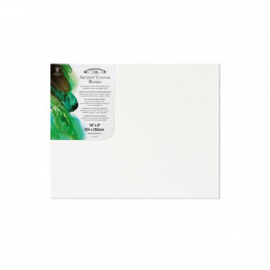 Winsor & Newton Artists Canvas Board 10x8 INCHES WIN6224108